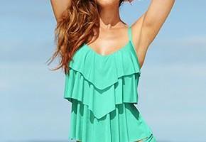 beach outfit idea swimsuit