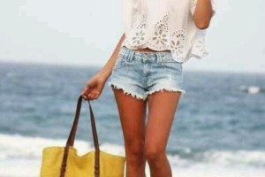 beach outfit with shorts 2