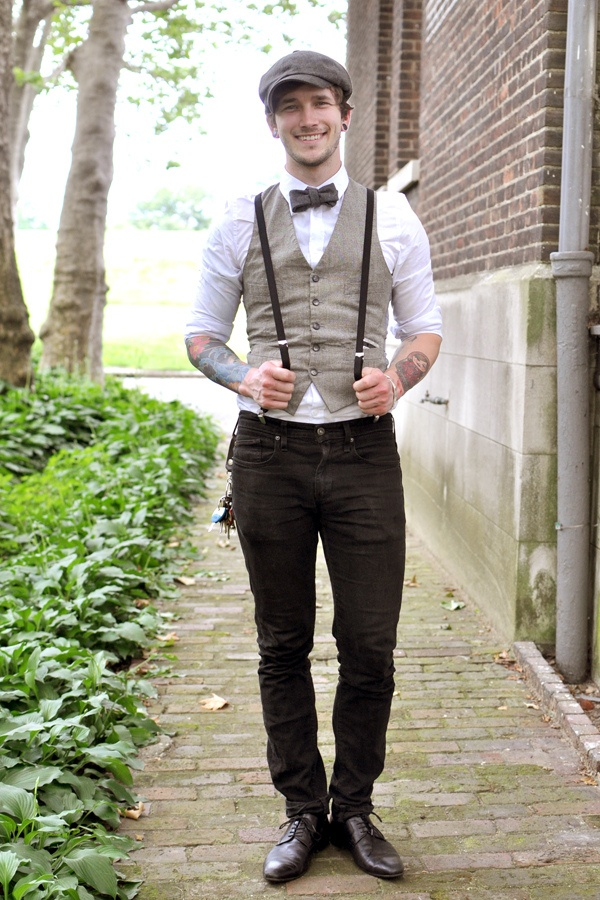 How To Wear Suspenders With Jeans For Men – 30 Male Fashion Styles A lot of guys want to expand their fashion sense, but they aren't sure where to start. The problem is that fashion trends morph and warp so often and quickly that it's hard to keep up.