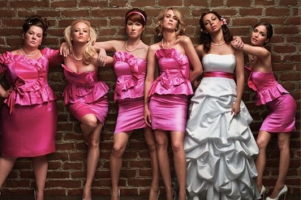 bridesmaid pink dress ideas