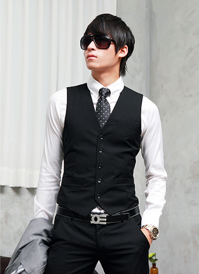 Outfit black and white men for Black tuxedo shirt for men