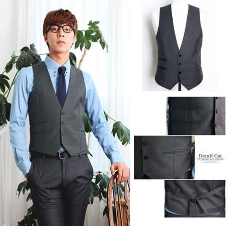 formal clothing for men 6 with vest