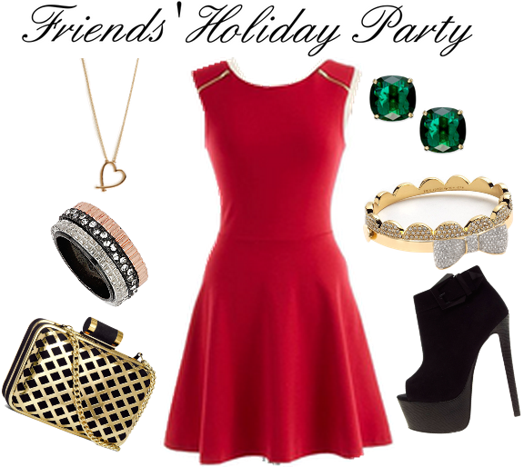 friends holiday party