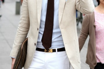 light tuxedo jacket outfit idea 5