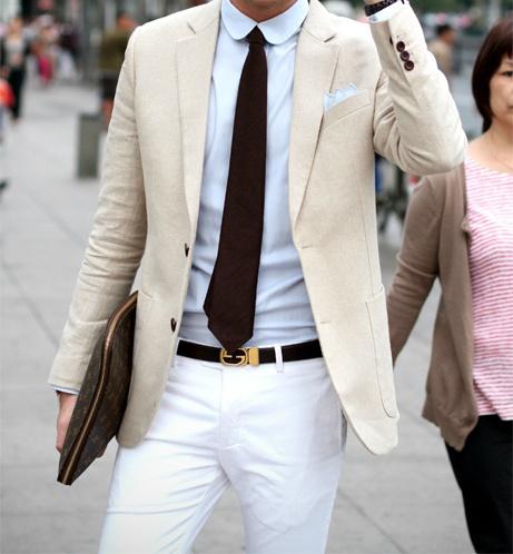 light tuxedo jacket outfit idea 5