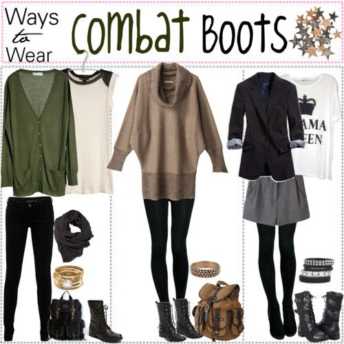 3 Ways to Wear Combat Boots