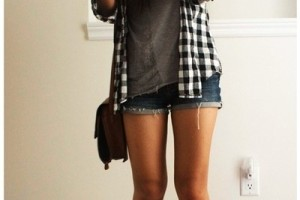 30 days of summer outfit idea black hipster style look fashion