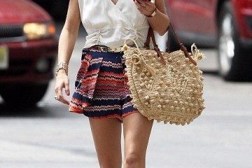 30 days of summer tribal printed shorts