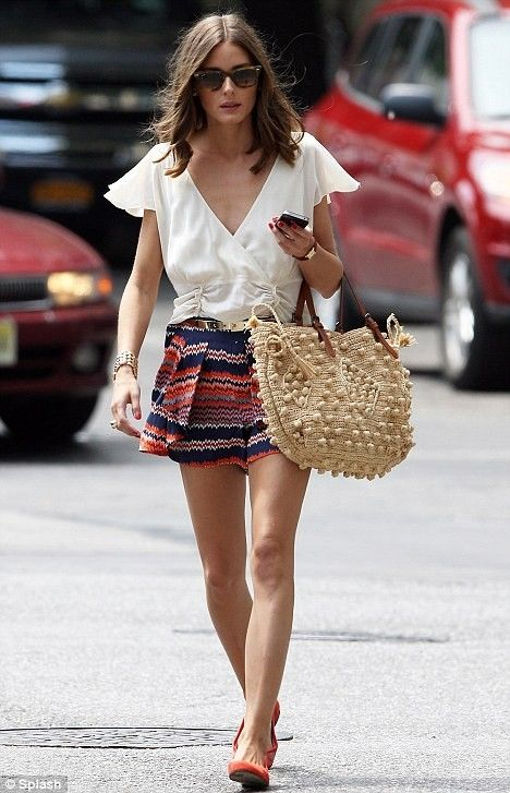30 Days of Summer Outfit Idea 13 - Tribal Printed Shorts