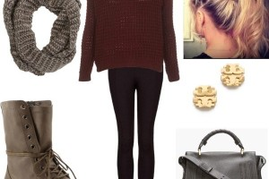 Complete outfit idea with combat boots
