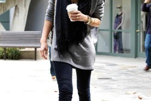 Dark Cool Outfit with Black Combat Boots