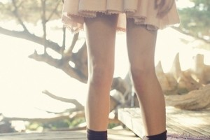 Girly Dress with Combat Boots
