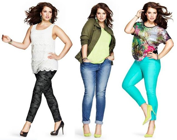 Plus-Size-Fashion-with-Skinny-Pants