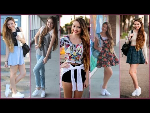 cute appropriate school outfit ideas