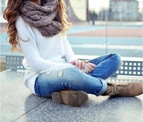 Casual Outfit Style With Combat Boots