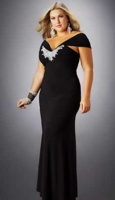 plus size formal dress 9