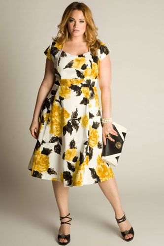 Black and yellow dress styles