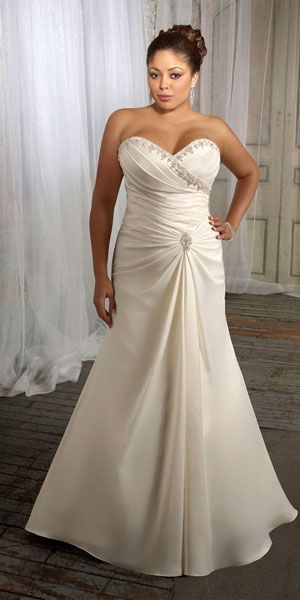 plus size wedding dress for big women 3