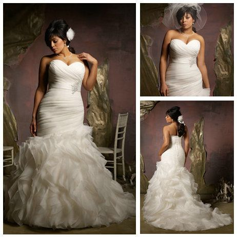 Plus size wedding dresses for ideas for Wedding dress big size