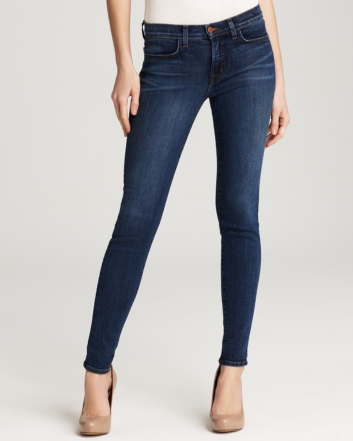 Girls' jeans come in a variety of styles, such as straight leg, boot leg, and skinny to fit her shape and personal preferences. Straight leg This means she'll have .
