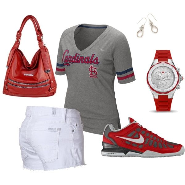 baseball game outfit idea for women 10