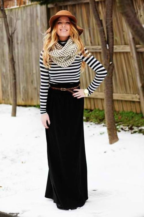 maxi skirt outfit idea fashion style girls 10
