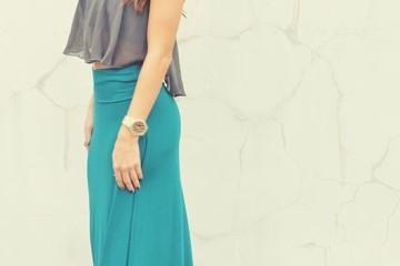 maxi skirt outfit idea fashion style girls 8