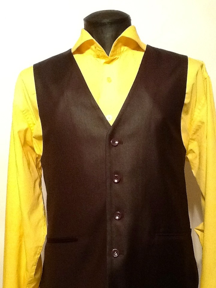 men's yellow dress shirt outfit idea 10