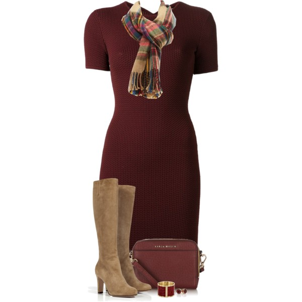 interview dresses with scarves outfit ideas 7