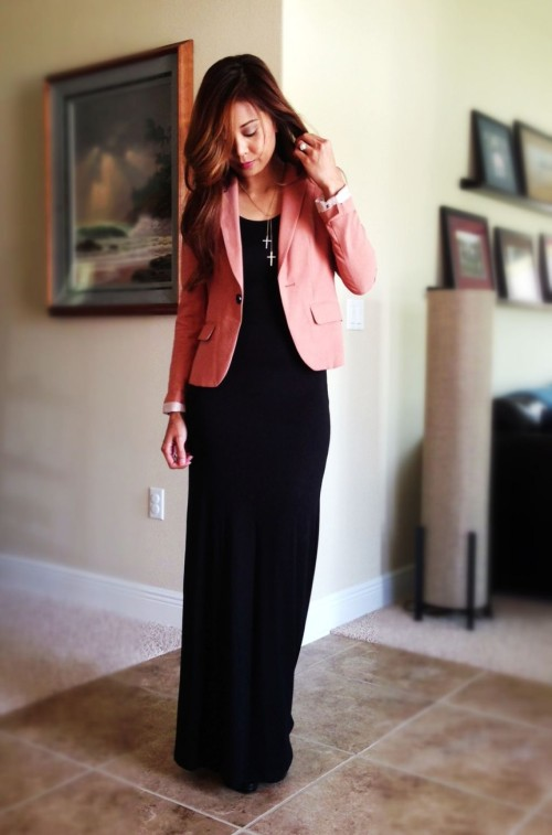 corporate outfits with maxi dresses 2