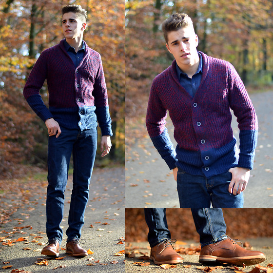 holiday outfit men 3 cardigan