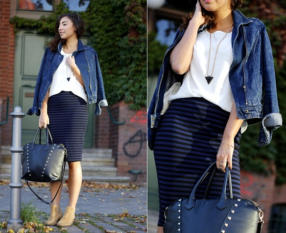 work outfit ideas with tight skirt 2