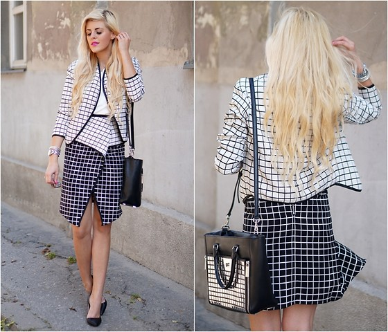 work outfit ideas with tight skirt 4