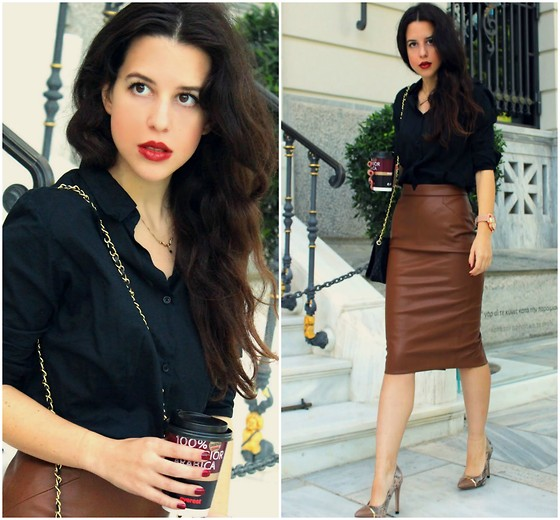 work outfit ideas with tight skirt 6