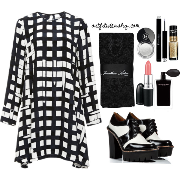 black white church outfit ideas 10