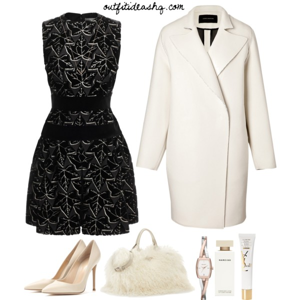 black white church outfit ideas 11