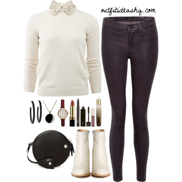 black white church outfit ideas 12
