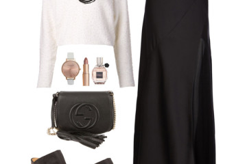 black white church outfit ideas 2