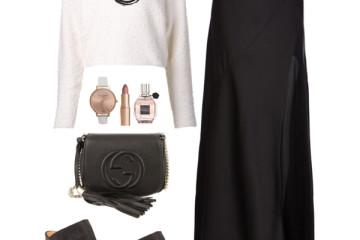 black white church outfit ideas 2