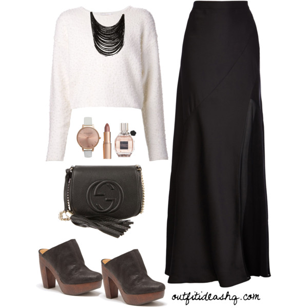 dcb68a22f70 Black and White Outfit Ideas for Church