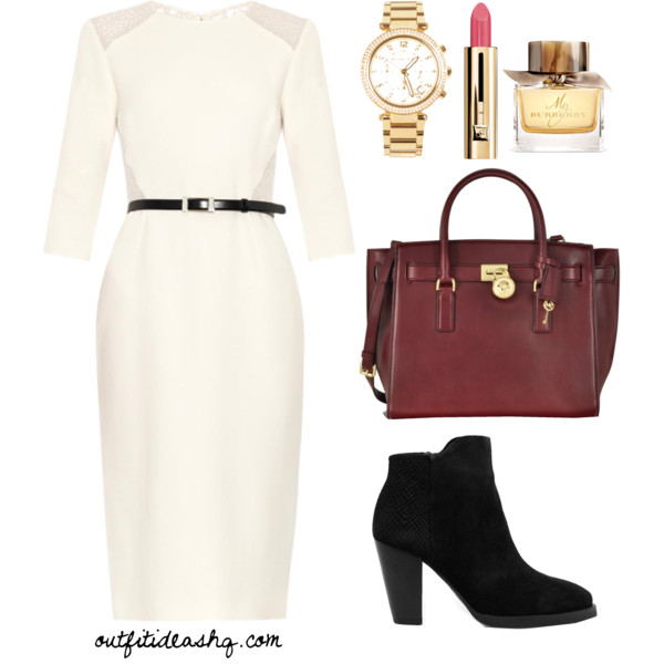 black white church outfit ideas 3