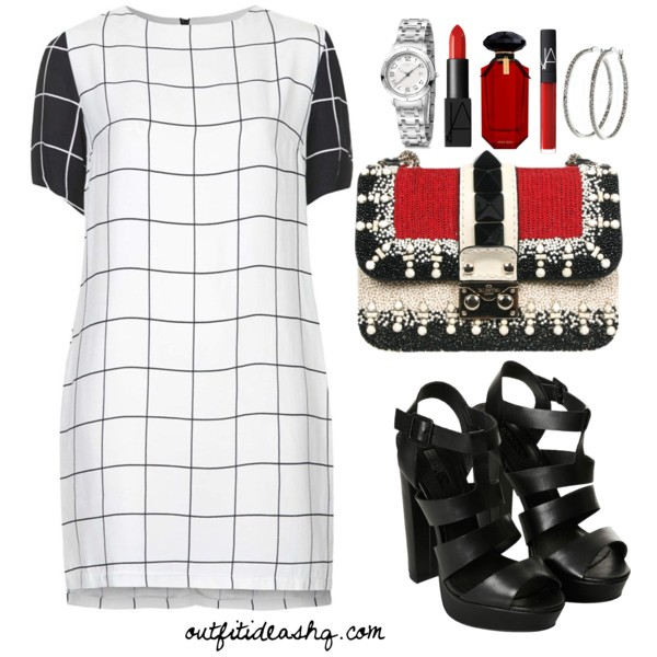 black white church outfit ideas 6