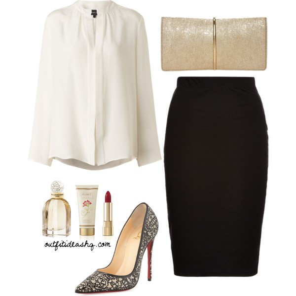 black white church outfit ideas 8