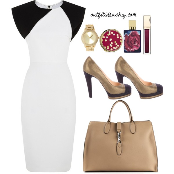 black white church outfit ideas 9