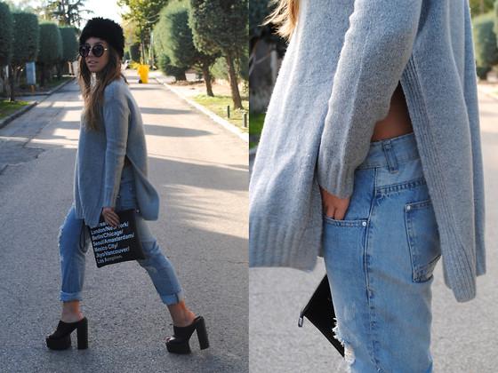 boyfriend jeans outfit idea style 18