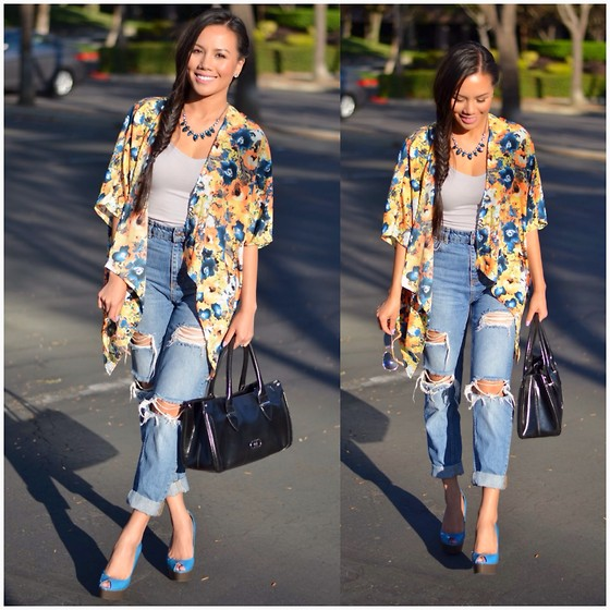 Styling Boyfriend Jeans and Outfit Ideas