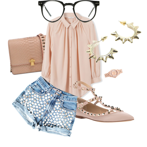 cute nerdy outfit ideas with glasses 10