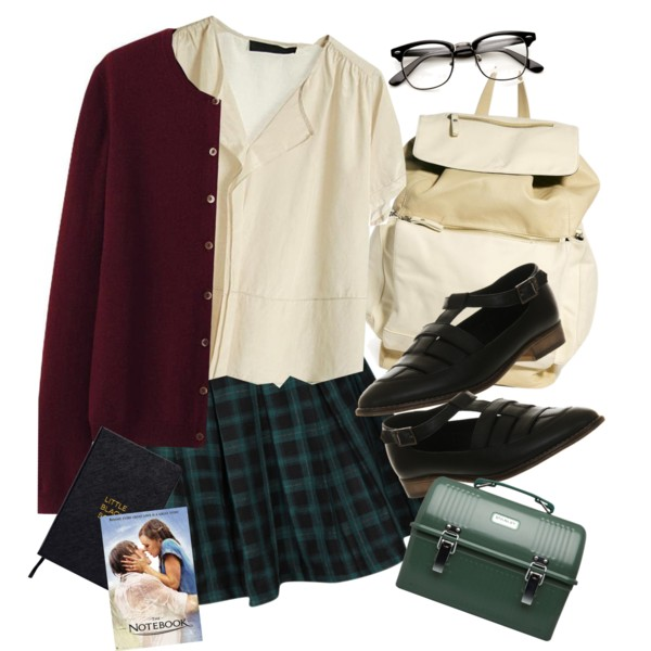 cute nerdy outfit ideas with glasses 11