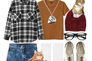 cute nerdy outfit ideas with glasses 2