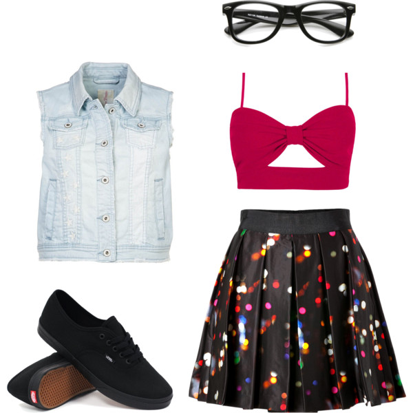 cute nerdy outfit ideas with glasses 4